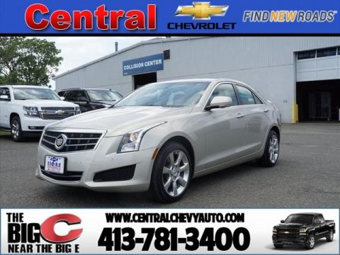 Pre-Owned 2014 Cadillac ATS 2.0T Luxury AWD