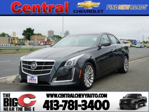 Pre-Owned 2014 Cadillac CTS 3.6L Premium Collection AWD